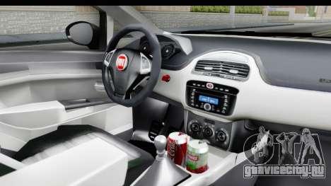 Fiat Linea 2015 v2 Wheels для GTA San Andreas вид изнутри