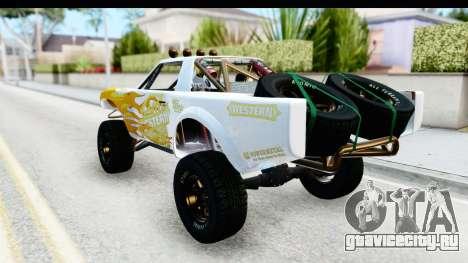 GTA 5 Trophy Truck IVF для GTA San Andreas вид сверху