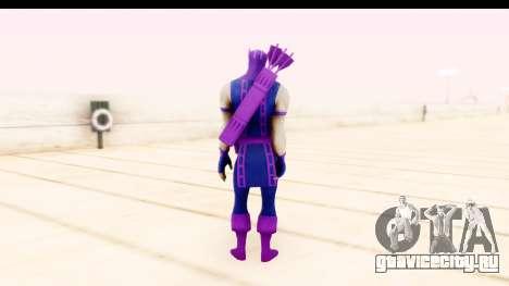 Marvel Heroes - Hawkeye для GTA San Andreas третий скриншот