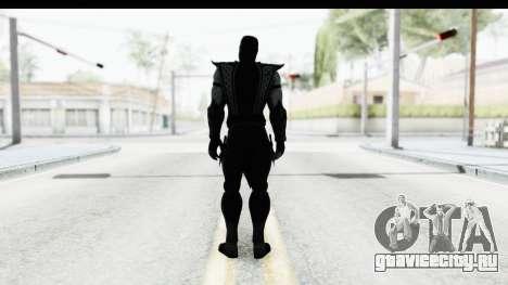 Mortal Kombat vs DC Universe - Noob Saibot для GTA San Andreas третий скриншот