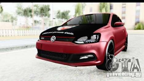 Volkswagen Polo для GTA San Andreas вид справа