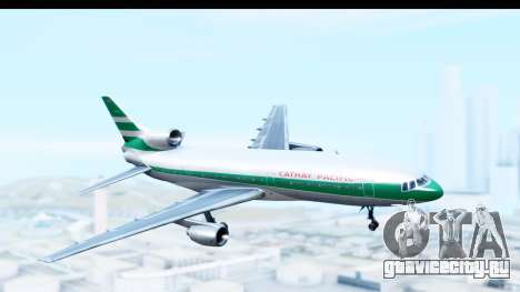 Lockheed L-1011-100 TriStar Cathay Pacific Air для GTA San Andreas