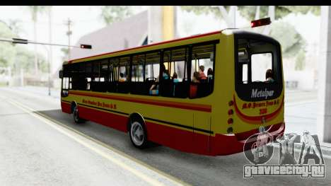 Metalpar Tronador 2 Puertas Linea 324 для GTA San Andreas вид слева