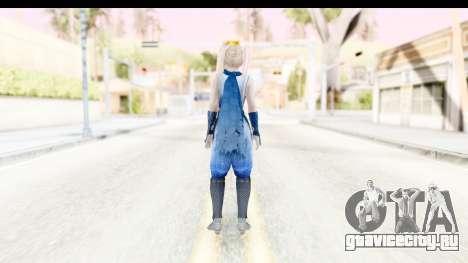 DoA 5: LR - Marie Rose Ninja для GTA San Andreas третий скриншот