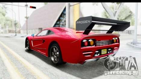 GTA 5 Progen Tyrus для GTA San Andreas вид слева