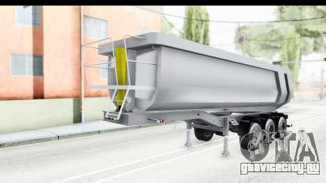Trailer Volvo Dumper для GTA San Andreas