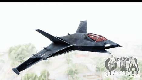 Batman Arkham Origins - Batwing для GTA San Andreas вид сзади слева