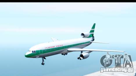 Lockheed L-1011-100 TriStar Cathay Pacific Air для GTA San Andreas вид сзади слева