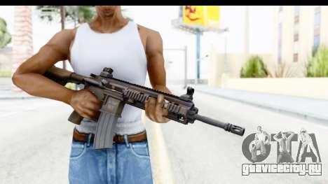 Heckler & Koch HK416 для GTA San Andreas третий скриншот