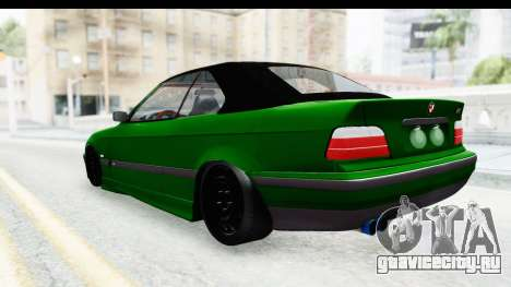 BMW M3 E36 Sloboz Edition для GTA San Andreas вид сзади слева