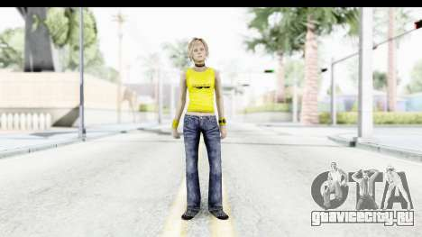 Silent Hill 3 - Heather Sporty Yellow Glasses для GTA San Andreas второй скриншот