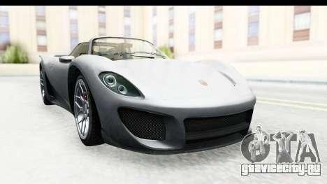 GTA 5 Pfister 811 IVF для GTA San Andreas