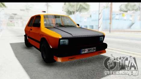 Zastava Yugo Koral 55 Race для GTA San Andreas