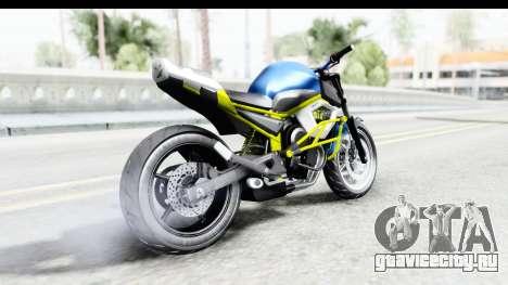 Yamaha Cage Sic для GTA San Andreas вид слева
