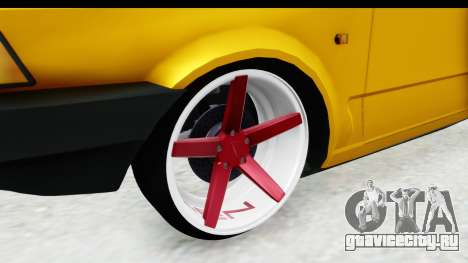 Fiat Spazio Tr Street для GTA San Andreas вид сзади
