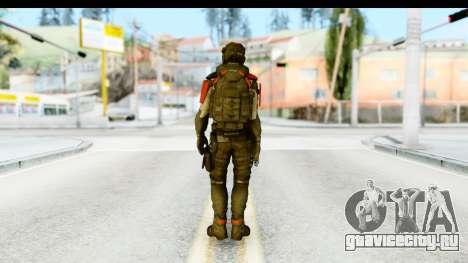 Homefront The Revolution - KPA v1 Captain для GTA San Andreas третий скриншот