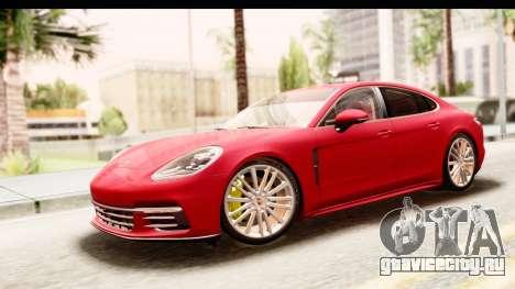 Porsche Panamera 4S 2017 v5 для GTA San Andreas