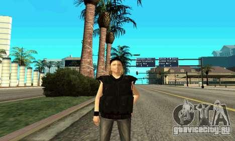 Женщина-тренер SWAT для GTA San Andreas