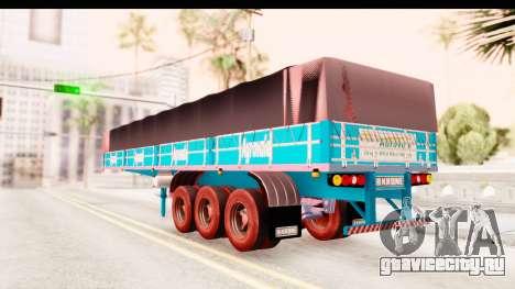 Trailer Brasil v4 для GTA San Andreas вид сзади слева