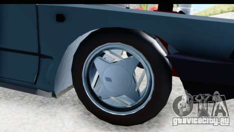 Fiat 147 для GTA San Andreas вид сзади