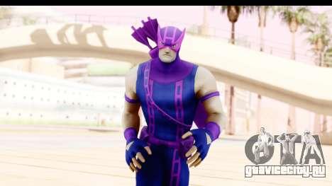 Marvel Heroes - Hawkeye для GTA San Andreas