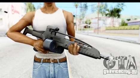 H&K XM8 Drum Mag для GTA San Andreas третий скриншот