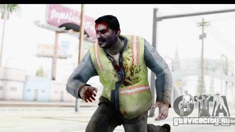Left 4 Dead 2 - Zombie Baggage Handler для GTA San Andreas