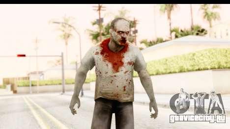 Left 4 Dead 2 - Zombie T-Shirt для GTA San Andreas