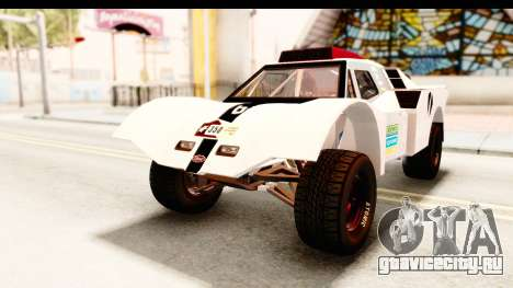 GTA 5 Desert Raid SA Lights PJ для GTA San Andreas вид снизу