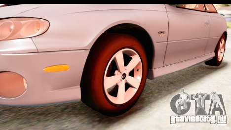 Pontiac GTO 2006 для GTA San Andreas вид сзади