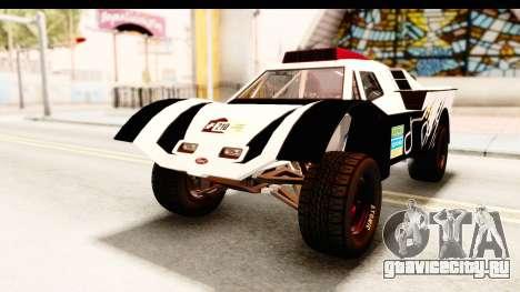 GTA 5 Desert Raid SA Lights PJ для GTA San Andreas вид сбоку