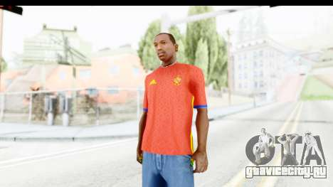 Spain Home Kit 2016 для GTA San Andreas второй скриншот