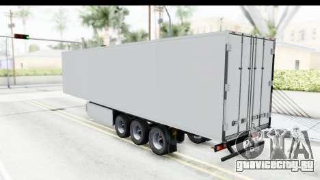 Trailer ETS2 v2 Old Skin 2 для GTA San Andreas вид сзади слева