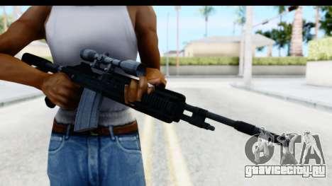 GTA 5 Vom Feuer Marksman Rifle для GTA San Andreas третий скриншот