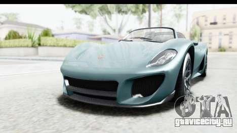 GTA 5 Pfister 811 для GTA San Andreas