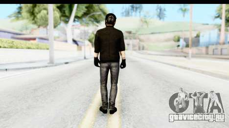 Payday 2 - Bodhi with Mask для GTA San Andreas третий скриншот