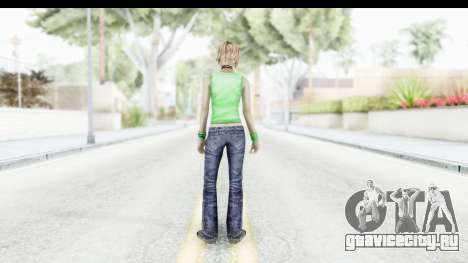 Silent Hill 3 - Heather Sporty Green Evolution для GTA San Andreas третий скриншот