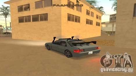 Super Sultan для GTA San Andreas вид сзади слева