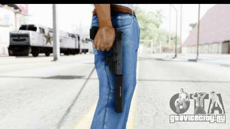 Glock P80 Silenced для GTA San Andreas