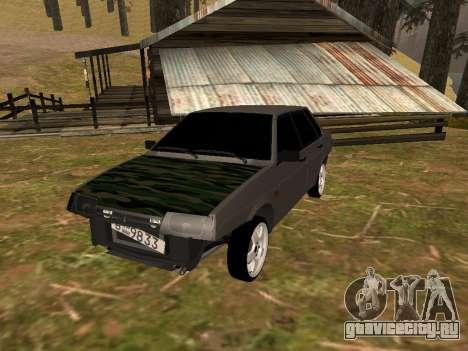 ВАЗ 21099 Классика для GTA San Andreas