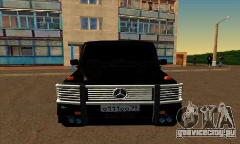 1999 Mercedes-Benz G55 AMG Brabus для GTA San Andreas вид слева