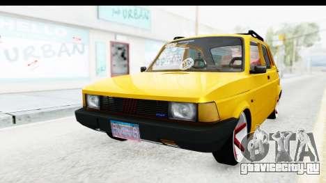 Fiat Spazio Tr Street для GTA San Andreas