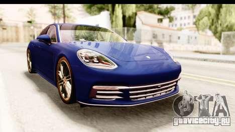 Porsche Panamera 4S 2017 v4 для GTA San Andreas вид справа