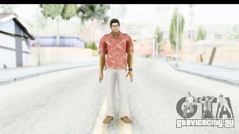 Yakuza 5 Kazuma Kiryu Okinawa для GTA San Andreas второй скриншот