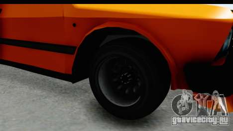 Zastava Yugo Koral 55 Race для GTA San Andreas вид сзади