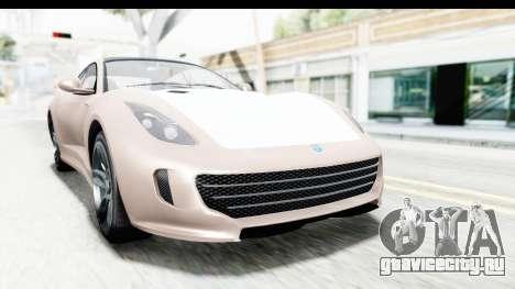 GTA 5 Grotti Bestia GTS with MipMap для GTA San Andreas