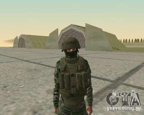 Пак бойцов ВДВ для GTA San Andreas восьмой скриншот