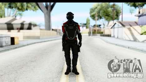 Homefront The Revolution - KPA v1 Captain для GTA San Andreas второй скриншот