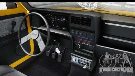 Fiat Spazio Tr Street для GTA San Andreas вид изнутри