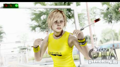 Silent Hill 3 - Heather Sporty Yellow Glasses для GTA San Andreas